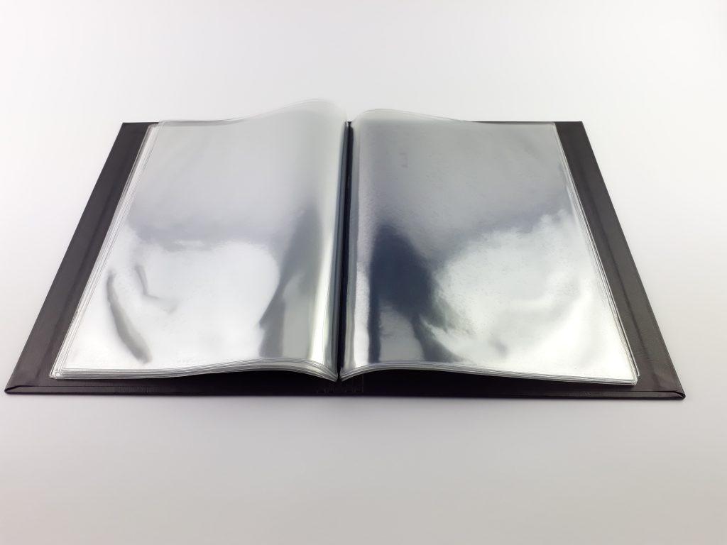 menu retaurant pochtte plastique